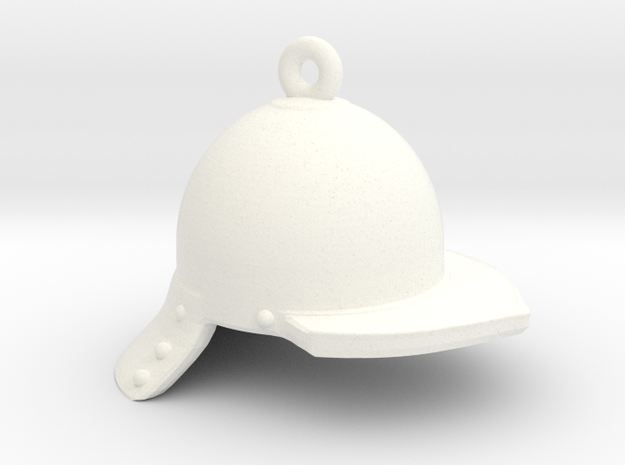 Globster in White Processed Versatile Plastic