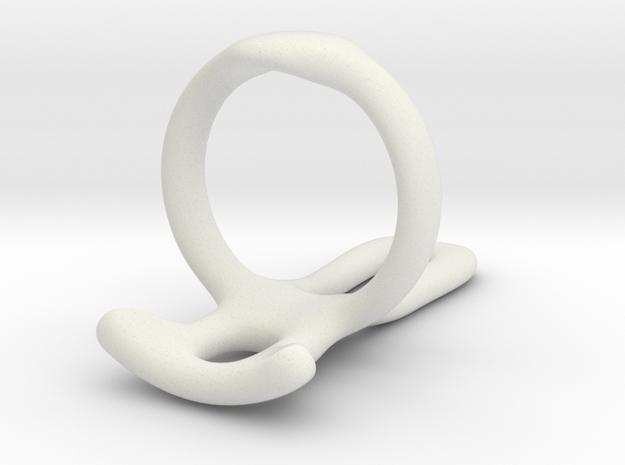 Ring splint for Abcantal US 4 1/2 L10 L20 in White Natural Versatile Plastic