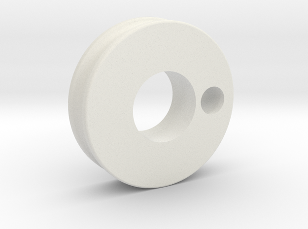 pulley_prox_2345 in White Natural Versatile Plastic