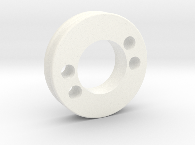 thumb_md_pulley in White Processed Versatile Plastic