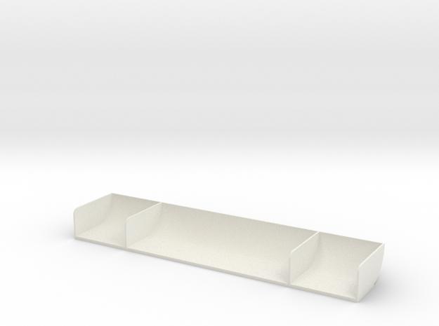 TC 1/10 Spoiler V1 in White Natural Versatile Plastic
