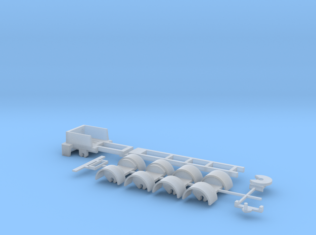 kompletter Rahmen 5ax Spur N  1:160