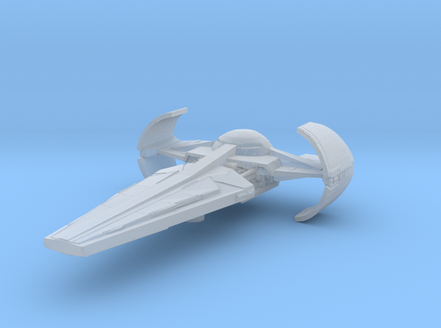 Sith Infiltrator in Smooth Fine Detail Plastic