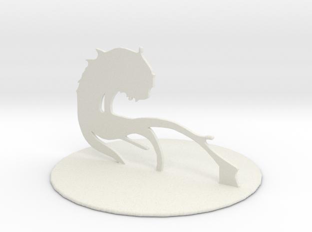 Aboleth in White Natural Versatile Plastic