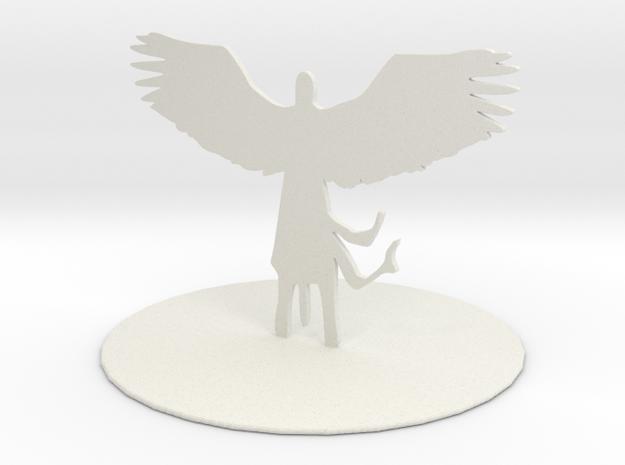 Planetar (Angel) in White Natural Versatile Plastic