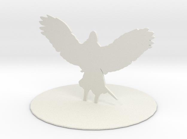 Solar (Angel) in White Natural Versatile Plastic