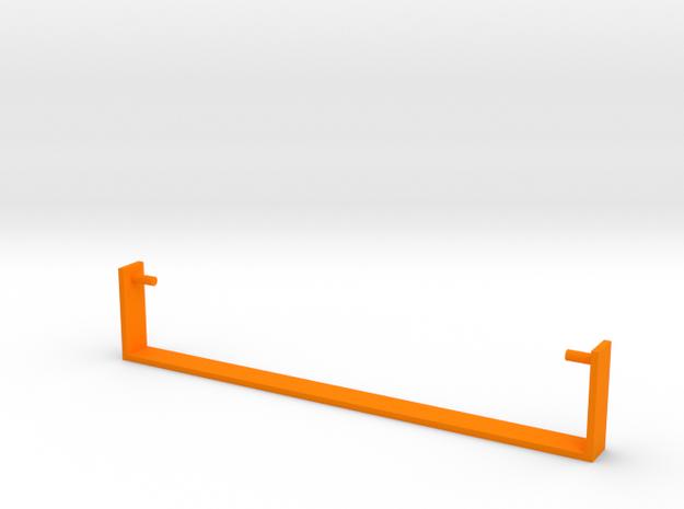 Bike Seat Shield Stay in Orange Strong & Flexible Polished