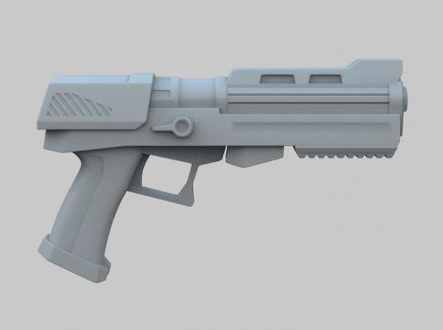 Heavy Plasma Pistol 3d printed Side View