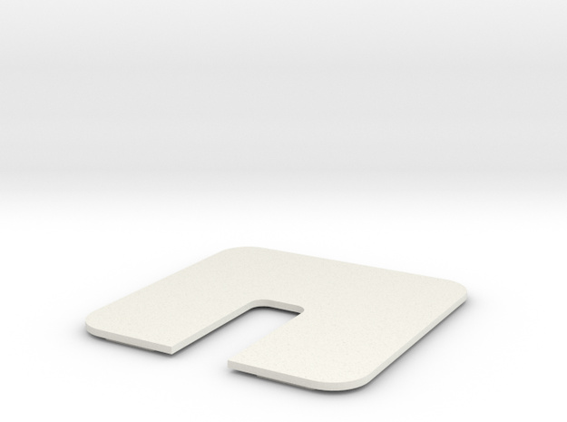 Conf Rm Table Hole Panel 06 thick in White Strong & Flexible