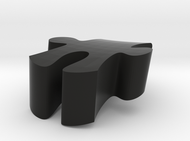 E10 - Makerchair in Black Natural Versatile Plastic