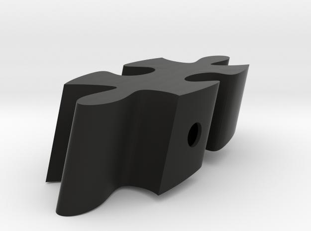 E7 - Makerchair in Black Natural Versatile Plastic