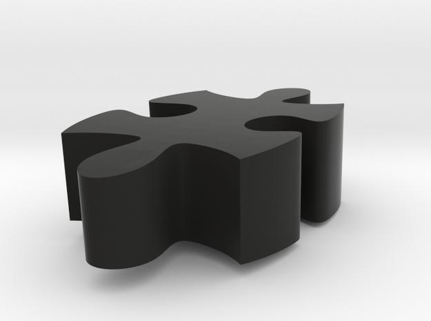 E1 - Makerchair in Black Natural Versatile Plastic