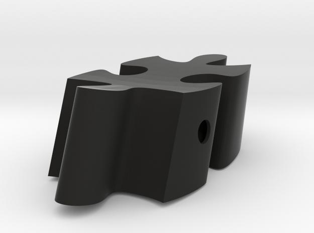 D6 - Makerchair in Black Strong & Flexible