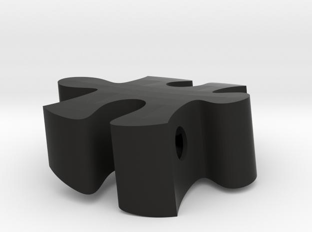 B9 - Makerchair in Black Natural Versatile Plastic