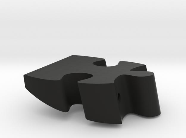 A2 - Makerchair in Black Natural Versatile Plastic
