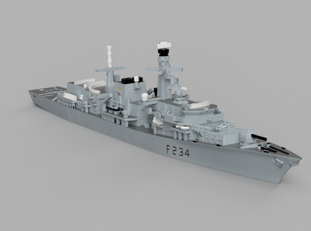 1/1800 HMS Iron_Duke in Smooth Fine Detail Plastic
