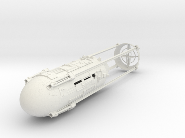 1/48 Y-Wing Nacelle (Right) in White Natural Versatile Plastic