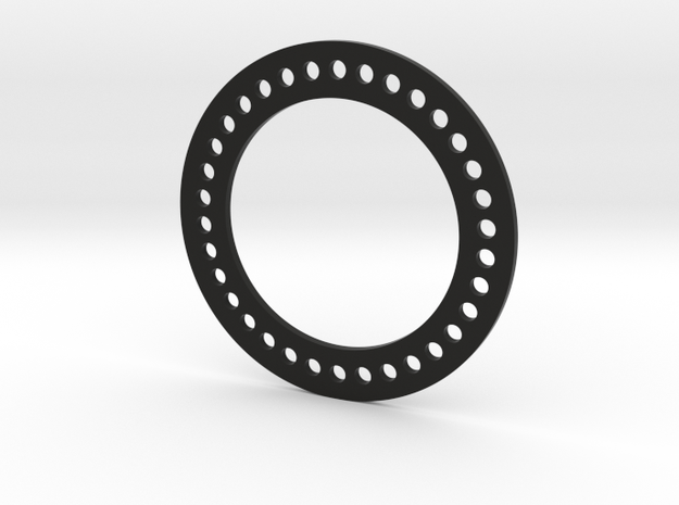 Bead Lock Ring for RC4WD Deep Dish Wheels 1.9 in Black Natural Versatile Plastic