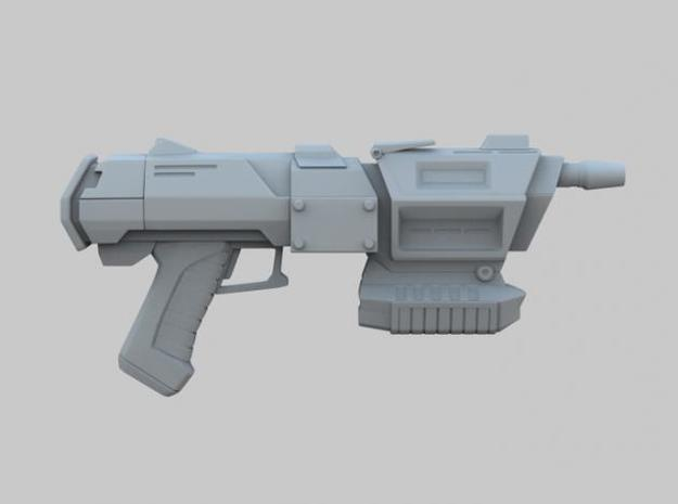 Assault Blaster 3d printed Right View