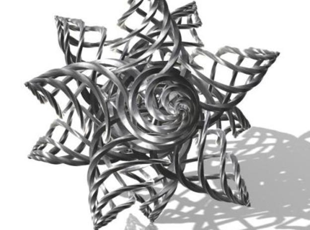 Twisted 3d printed Another rendering of this twisted creation