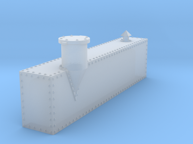 Minitrains Koppel Fuel Oil tank HOn30 in Frosted Extreme Detail
