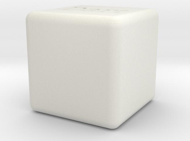 Dart Box in White Strong & Flexible