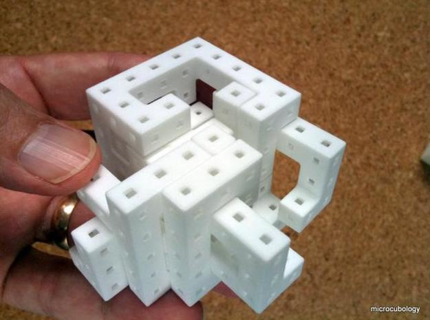Switch Cube hollow 3d printed Almost open