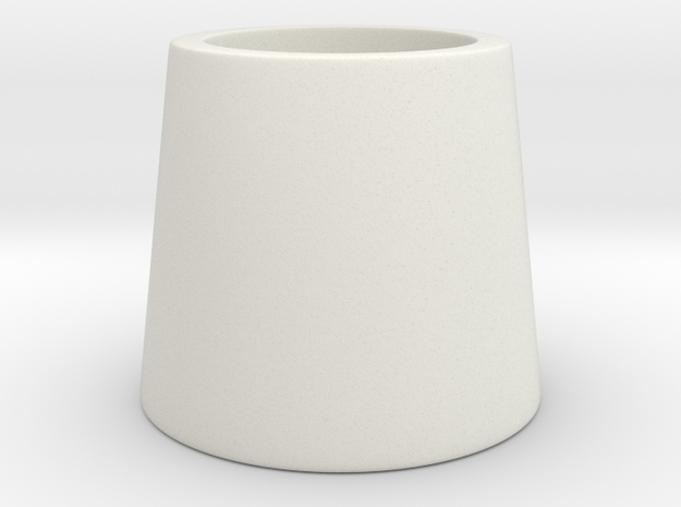 Harley Hair Cone (ONLY ONE HAIR CONE) in White Natural Versatile Plastic