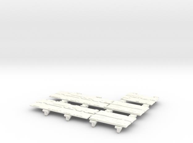 YT1300 HSBRO LANDING BAYS DOORS in White Processed Versatile Plastic