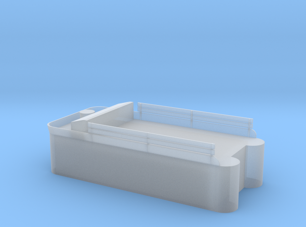 Class 56, 60, or C-16 Tender tank, no rivets in Smoothest Fine Detail Plastic