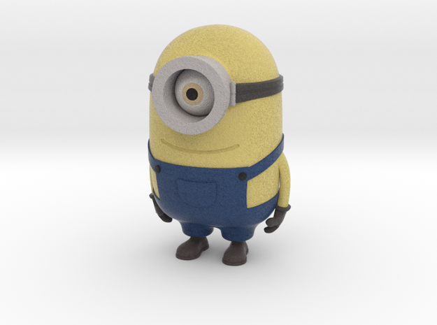 """One eyed minion from """"Despicable Me"""" in Full Color Sandstone"""
