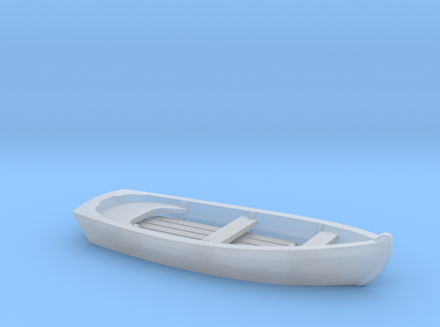 Classic SKIFF Boat in N Scale in Smooth Fine Detail Plastic