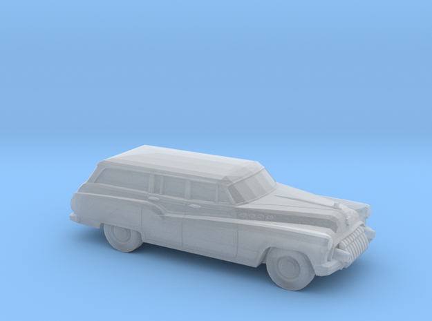 1/120 1X 1950 Buick Roadmaster Station Wagon in Frosted Ultra Detail