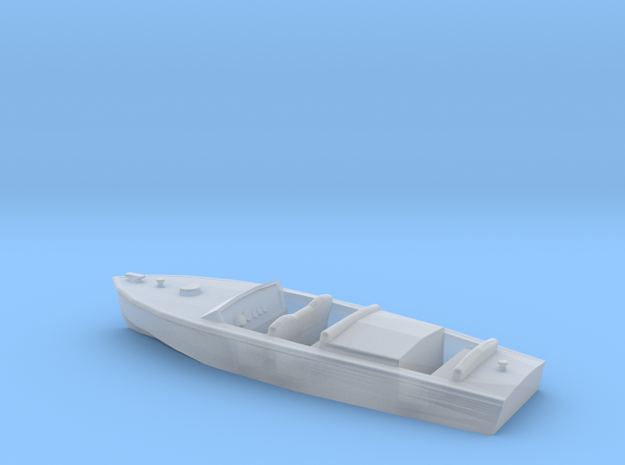 Classic Runabout N Scale Style 2 in Smooth Fine Detail Plastic