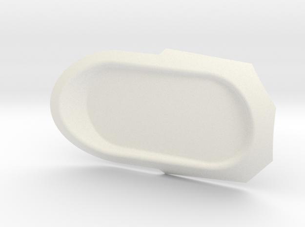Rad in White Processed Versatile Plastic