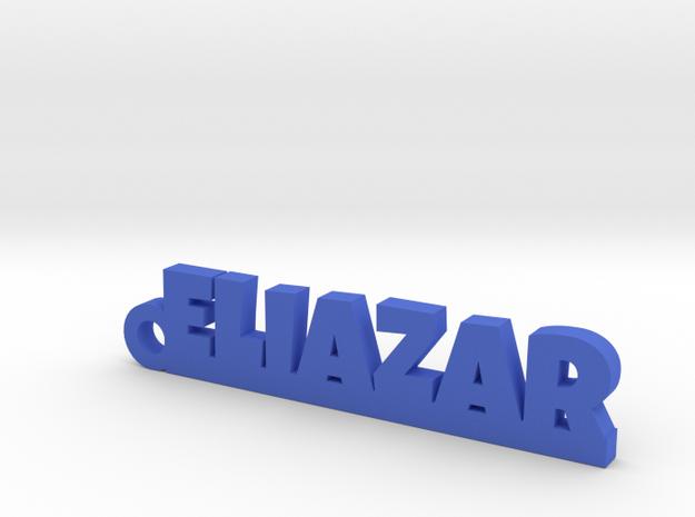 ELIAZAR_keychain_Lucky in Blue Processed Versatile Plastic