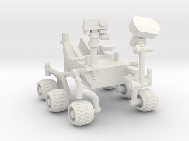 Curiosity Rover in White Strong & Flexible