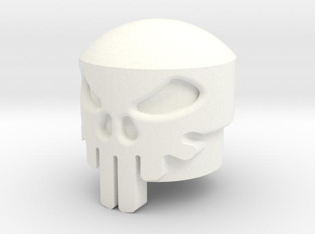 punisher18 in White Processed Versatile Plastic