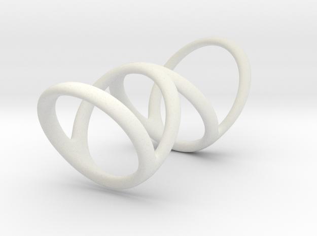 Ring for Bob L1 7-8 L2 1 3-8 D1 6 D2 6 1-2 D3 9 1- in White Natural Versatile Plastic