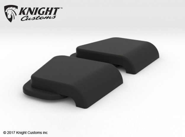 TR10010 TRX-4 Wing Top Vent in Black Strong & Flexible