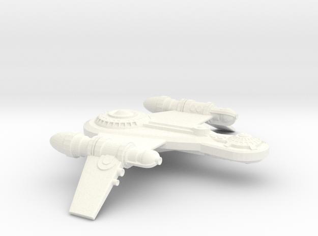 Proto Romulan War Bird in White Strong & Flexible Polished