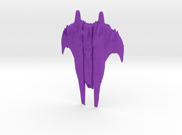 CR Octurion-class Battleship Full Thrust Scale in Purple Strong & Flexible Polished