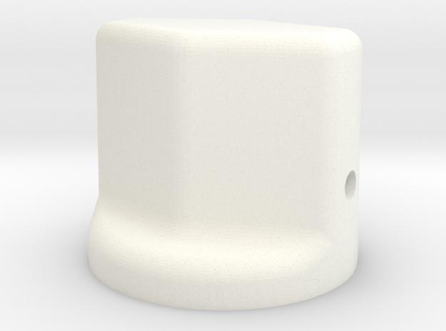 F16 TT155 in White Processed Versatile Plastic