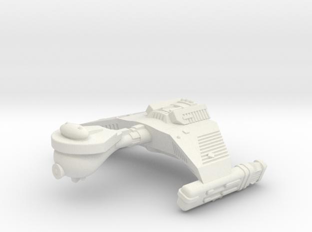 3788 Scale Klingon F5W War Destroyer WEM in White Natural Versatile Plastic