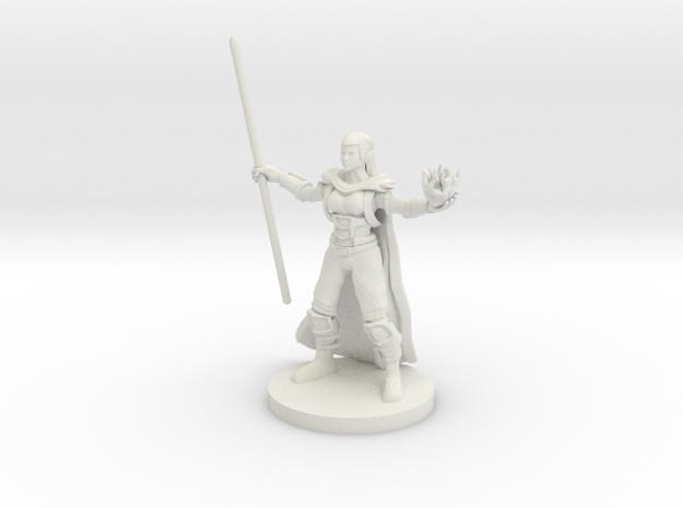 Half Elf Warlock 2 in White Natural Versatile Plastic