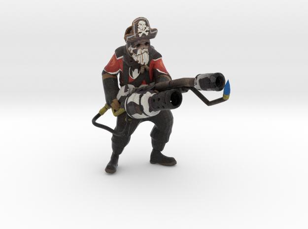 Pyro Bovine Blazemaker Captain cardbeard cutthroat in Full Color Sandstone