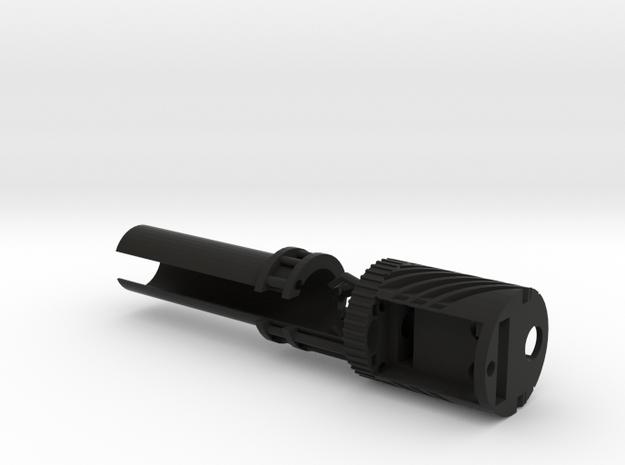Graflex 2.0 Chassis - Crystal Chamber in Black Natural Versatile Plastic