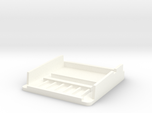Hp41 Mod Top in White Processed Versatile Plastic
