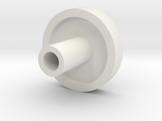 Kill key style 1 - 2.5mm plug in White Natural Versatile Plastic