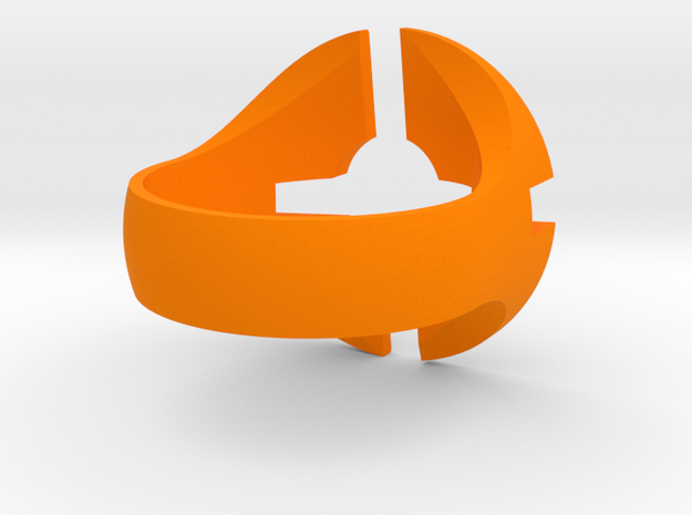 Team Fortress 2 Ring in Orange Processed Versatile Plastic: 6 / 51.5